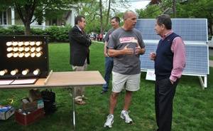 Bold New Plan for Solar Energy is Shown on Rutgers Day