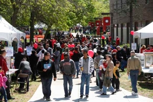 More than 75,000 people attended Rutgers Day in 2011 and 2012.