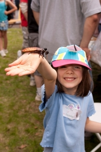 Kristine Zurarchak enjoys snakes and roaches at Ag Field Day/ Rutgers Day 09