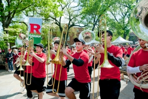 The Rutgers Marching Band
