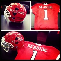R strong gear for the Scarlet and White game.