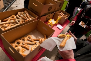 rutgers day pretzels