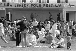 The New Jersey Folk Festival in 1988.